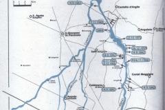 2 -Rotte argini Reno nei secoli, mappa