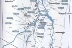 3 Rotte argini Samoggia dal 1700, mappa