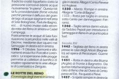 6 - Cronologia rotte Samoggia fino al 1996 e Reno dal 1220