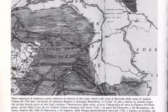 5 - Valli Malalbergo-Baricella 1762 stralcio da A. Chiesa con note didascalia