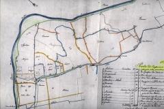8 - Area Galliera. Lavori per riordino scoli e canali 1822